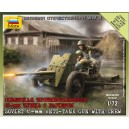 Canons anti-Tank 45mm Soviétique 1/72(1)