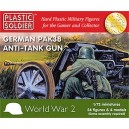 Canons Allemands Anti-Tank Pak38 1/72 (24+4)