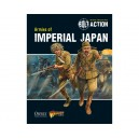 Armies of Imperial Japan (livre de régle en anglais)