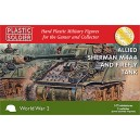 Allied Sherman M4A4 & Firefly  Tank 1/72(3)