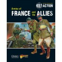 Armies of France and the allies (livre de régle en anglais)