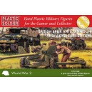 British 6PDR anti-tank gun & Loyd Carrier Town 1/72(2+2)