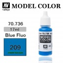 Vallejo Model Color Blue Fluo (209)