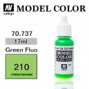 Vallejo Model Color Green Fluo (210)