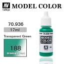 Vallejo Model Color Transparent Green