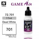 Vallejo Game Air Dead White