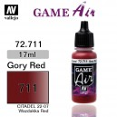 Vallejo Game Air Gory Red