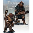 Frostgrave : Gnoll Apothecary & Marksman (2)