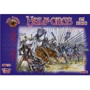 Dark Alliance Half-Orcs Pikemen set 1 1/72(32)