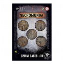 Socles ronds Necromunda 32mm (10)