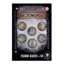 Socles ronds Necromunda 25mm (10)