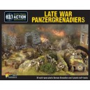 Late War Panzergrenadiers (30+3)