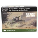 Allied M3 Honey light Tank 15mm (5)