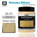 Vallejo Earth Texture Desert Sand 200ml