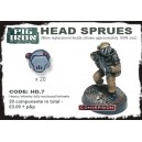 HD.7 H.Inf Closed Helmet Sprues