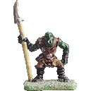 Fantasy warriors 10 orcs avec lances