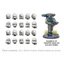 HD.20 Kolony Rebel head sprues 2 (20)